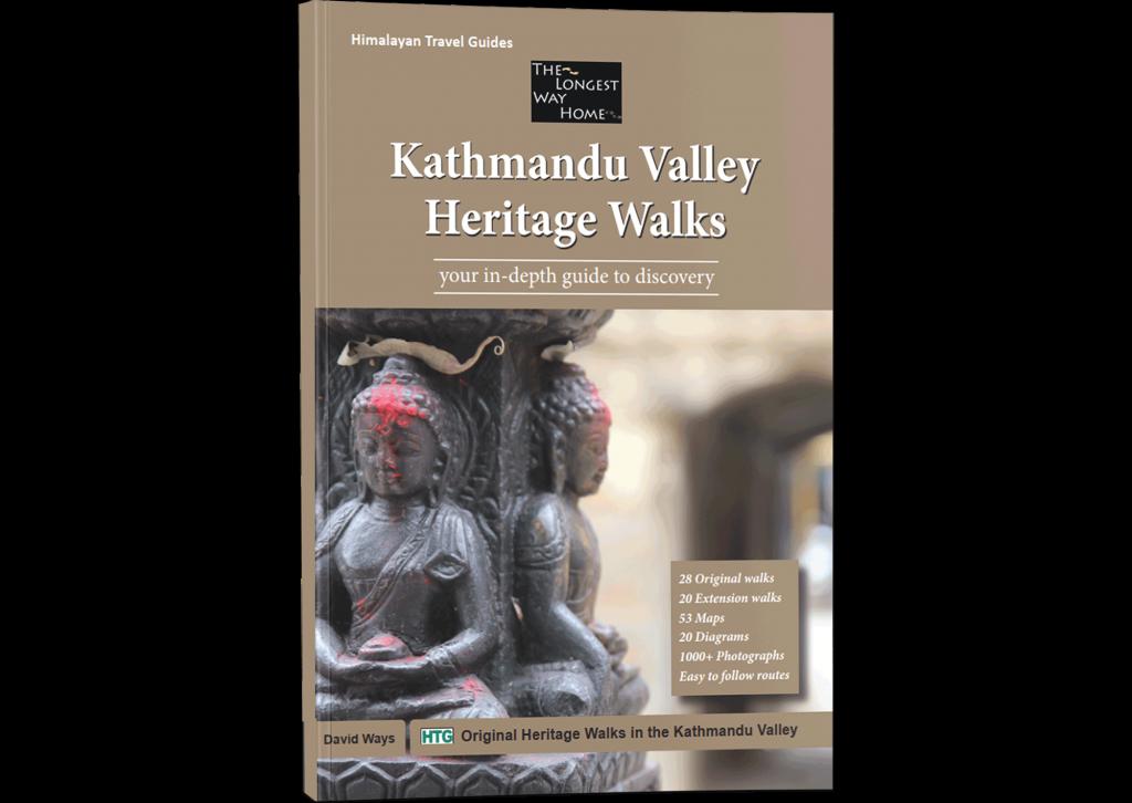 Kathmandu Valley Heritage Walks book cover