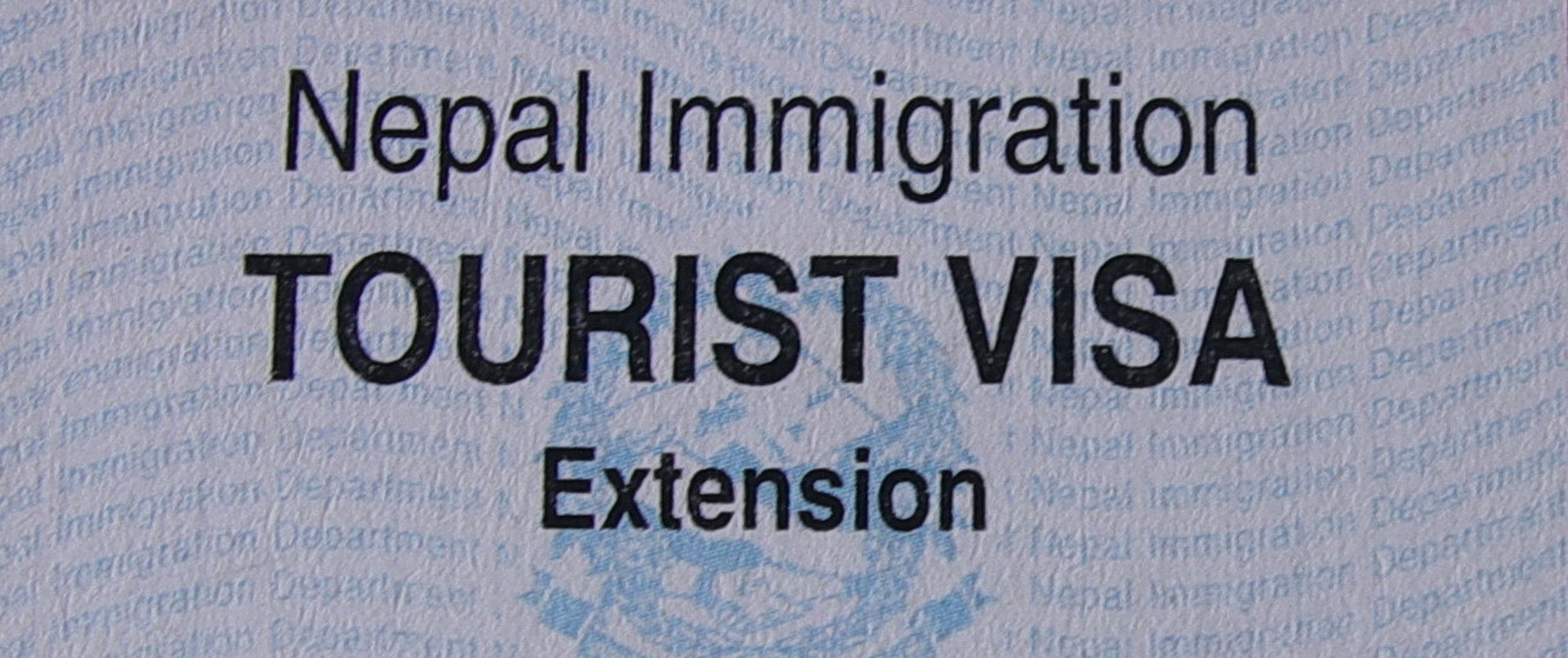Tourist visa Extension in Nepal