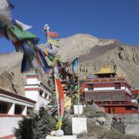 Kag Chode Thupten Samphel Ling Monastery in Kagbeni