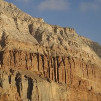 Mountains near Chhuksang - Upper Mustang Trek
