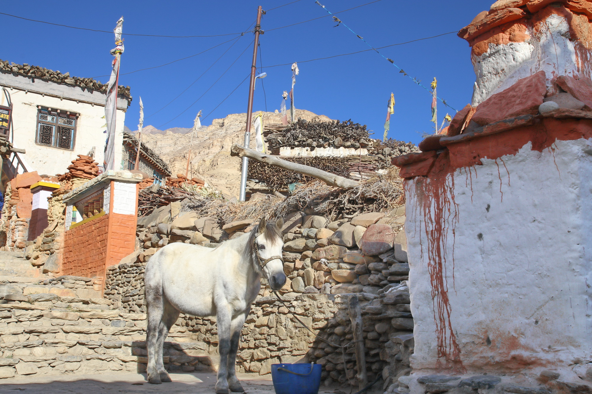Tesel village in Upper Mustang on day two