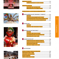 Table of Contents from Nepal Guidebook page 2