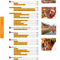 Table of Contents from Nepal Guidebook page 3