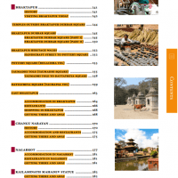 Table of Contents from Nepal Guidebook page 4