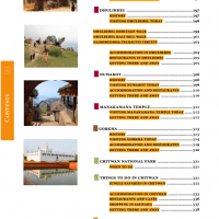 Table of Contents from Nepal Guidebook page 5