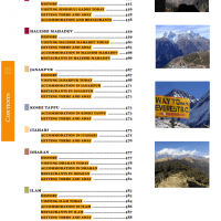 Table of Contents from Nepal Guidebook page 7