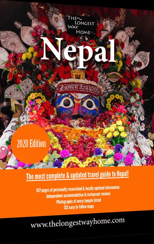 Nepal Guidebook Cover 2020