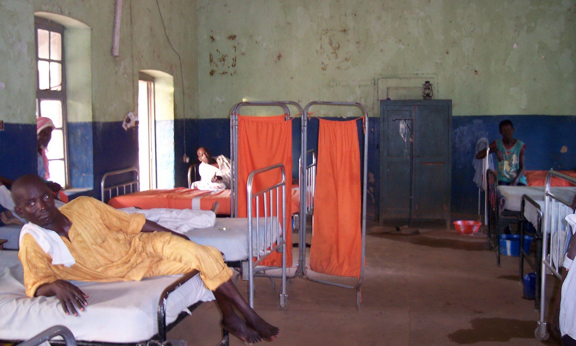 Hospital Ward in Africa