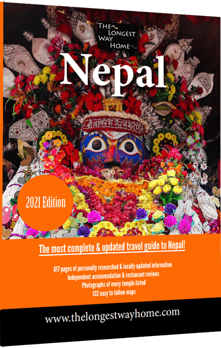 Nepal Guidebook Cover 2021
