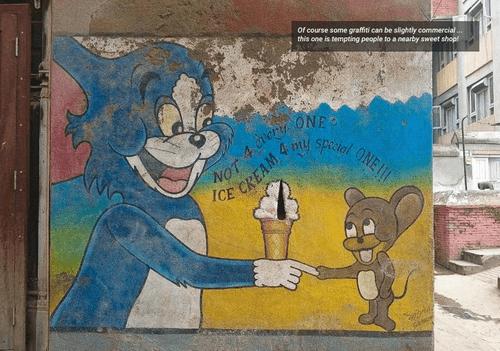 Tom and Jerry in Kathmandu