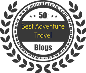 best travel adventure blog award