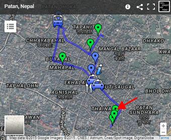 Map of Uku Bahal