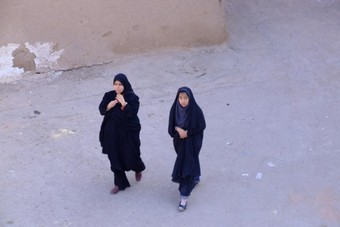 Iranian Women walking