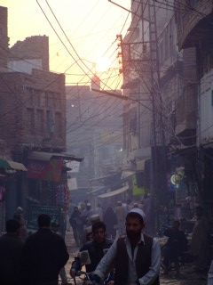 Peshawar City Sunset
