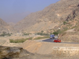 Cars on the Khyber Pass