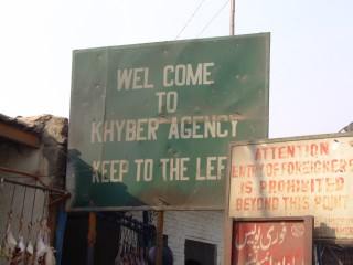 Khyber Pass Sign
