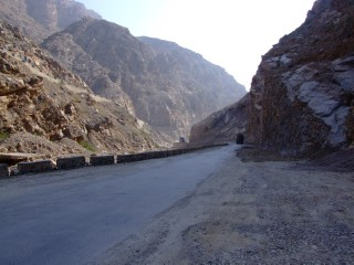 Road on the Khyber Pass