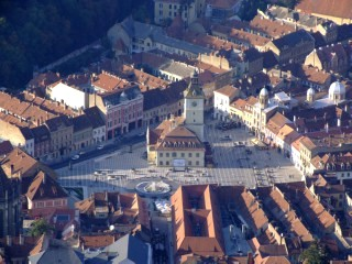 The town of Brasov