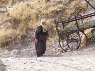 Old Turkish Woman