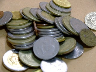Loose Peso Coins