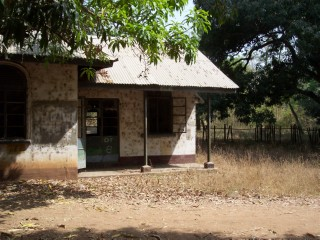 Small station house in Nigeria