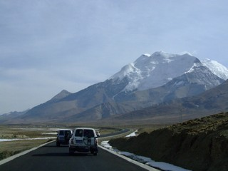 On the road into Tibet