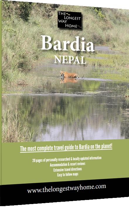 Cover of the Bardia guidebook
