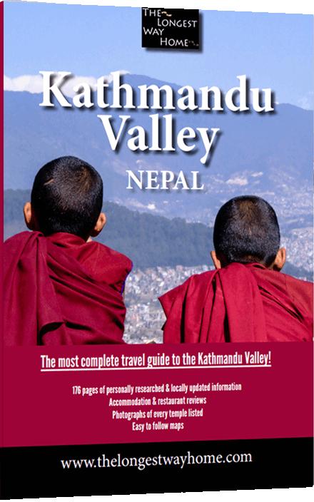 Kathmandu Valley Guidebook - cover