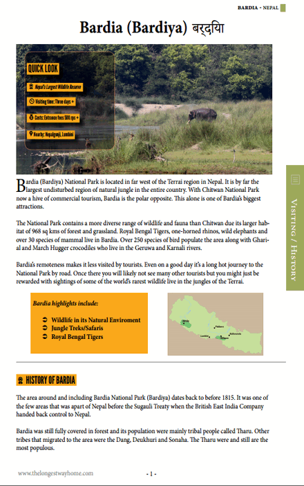 Bardia Guidebook - page