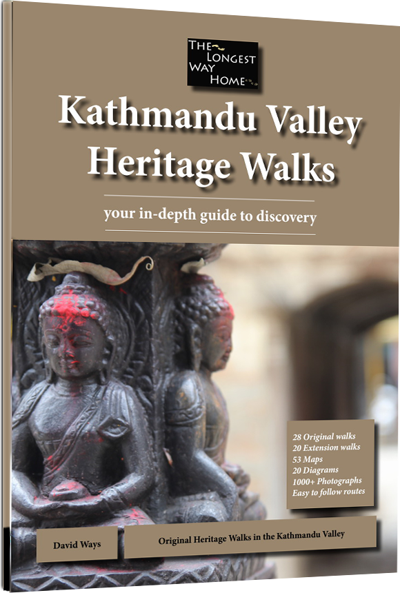 Kathmandu Valley Hertiage Walk book cover