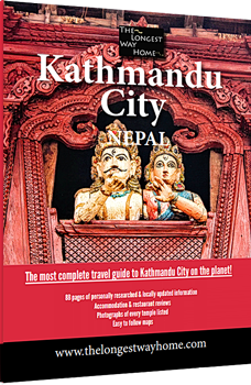 Kathmandu city travel guidebook