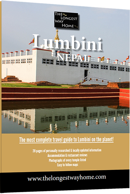 Lumbini Guidebook - cover