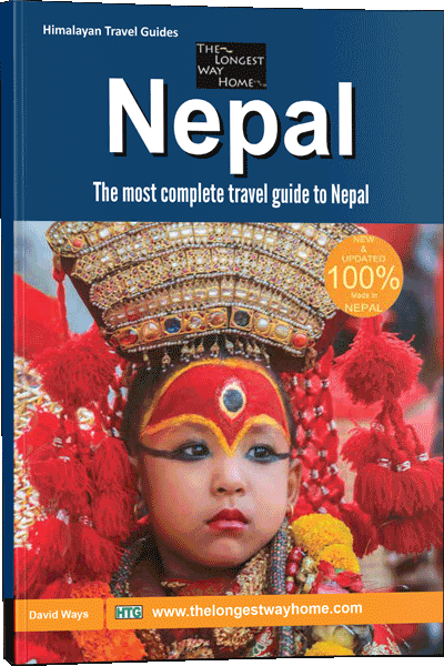 Cover of Nepal Guidebook print edition