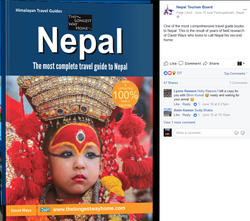 """the most comprehensive guidebook to Nepal"" - Nepal Tourism Board"