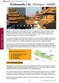 Guide book page from the Nepal Guidebook