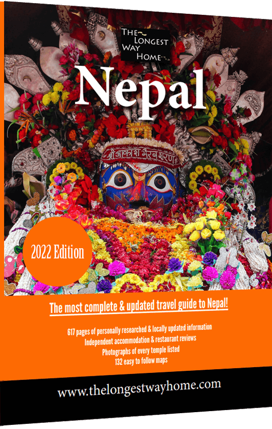 Nepal travel guidebook