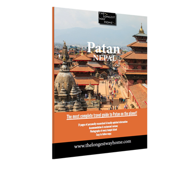 Patan travel guidebook cover