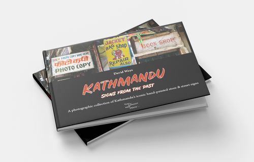 Collection of Nepal guidebooks