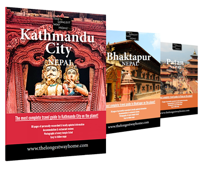Nepal travel guidebooks