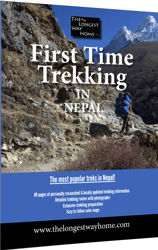 Trekking in Nepal guide book