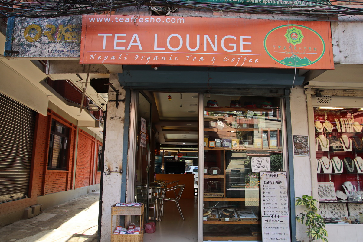 Tea Lounge in Nepal